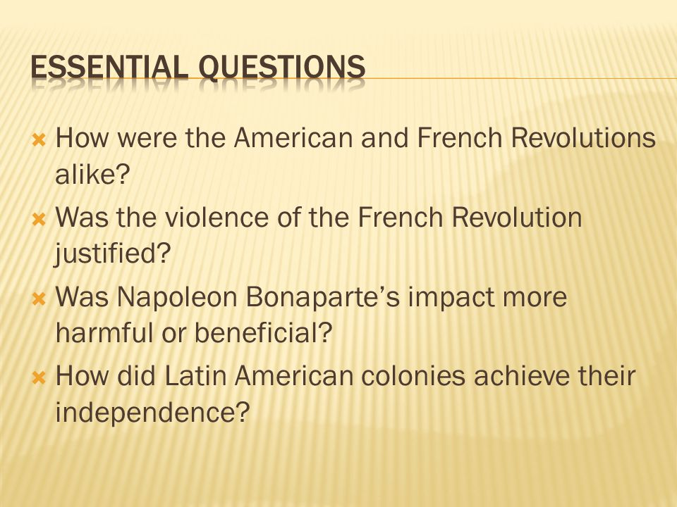 Was the American Revolution justified?