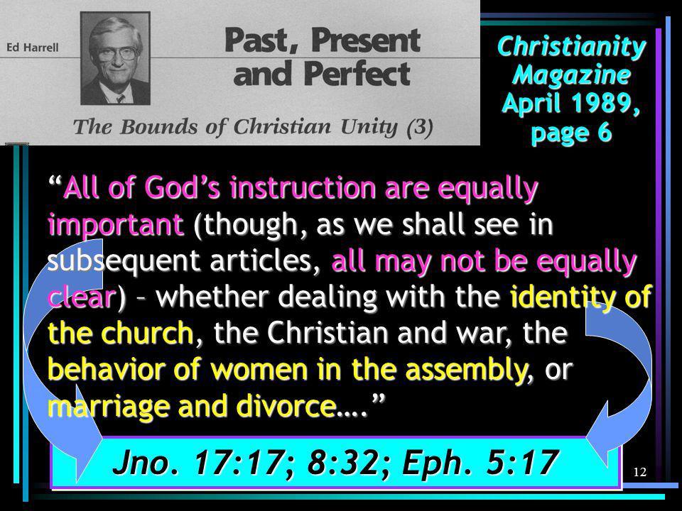 12 Jno. 17:17; 8:32; Eph.