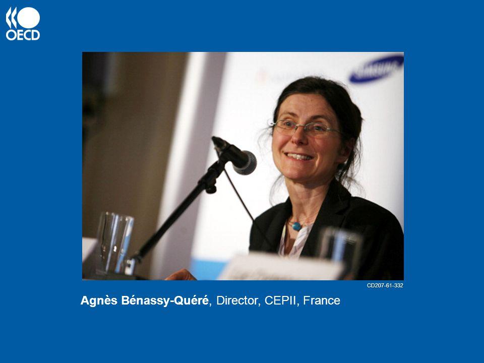Agnès Bénassy-Quéré, Director, CEPII, France CD207-61-332