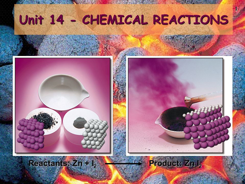 2 Chemical reactions involve changes in matter, the making of new materials with new properties, and energy changes.Chemical reactions involve changes in matter, the making of new materials with new properties, and energy changes.
