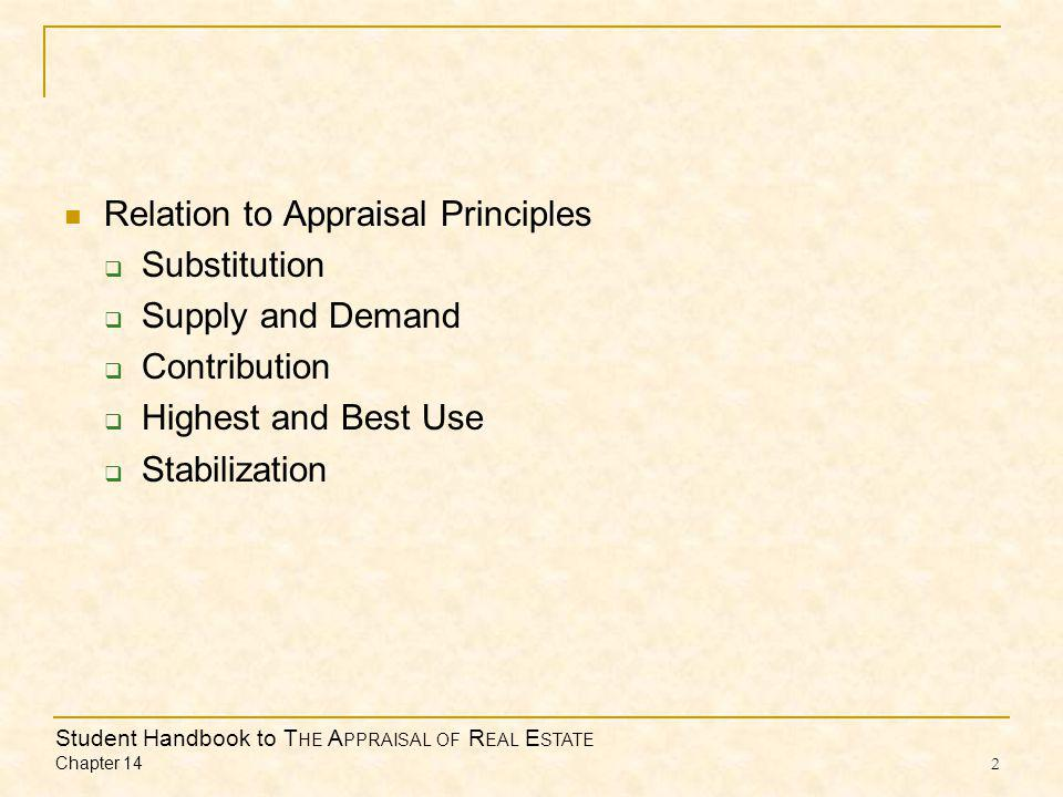 Student Handbook to T HE A PPRAISAL OF R EAL E STATE Chapter 14 3 Applicability and Limitations  Land Value  Reproduction and Replacement Cost Estimates