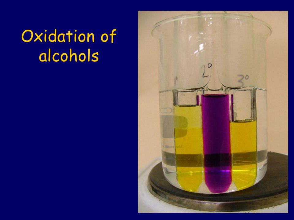 Acidified potassium permanganate (H + /KMnO 4 ), and acidified potassium dichromate (H + /K 2 Cr 2 O 7 ) are important oxidising agents.