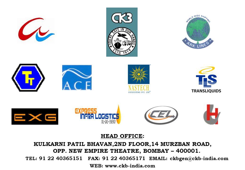 HEAD OFFICE: KULKARNI PATIL BHAVAN,2ND FLOOR,14 MURZBAN ROAD, OPP.