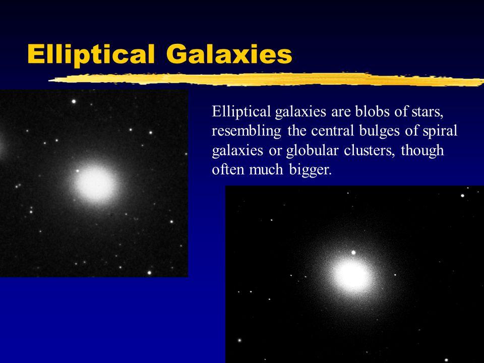 Irregular Galaxies Irregular galaxies are the remainder.
