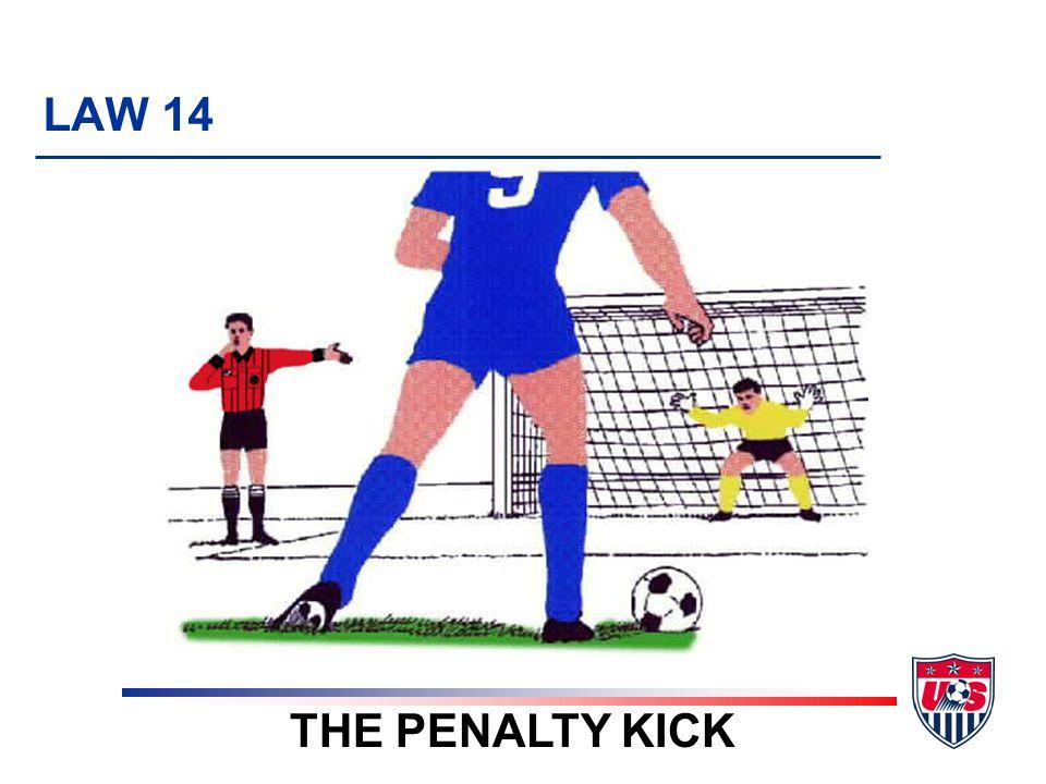8 TOPICS 1.When to award a penalty kick 2. Before kick is taken 3.