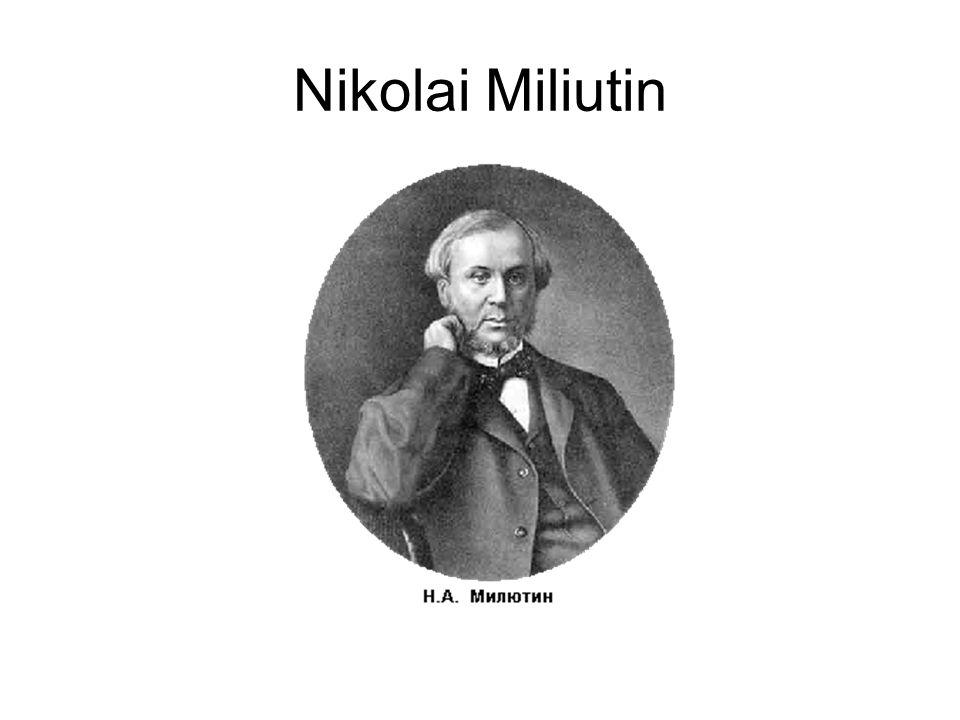 Nikolai Miliutin