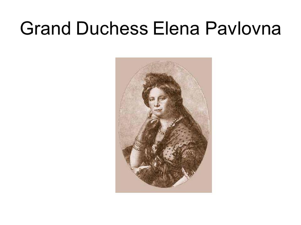 Grand Duchess Elena Pavlovna