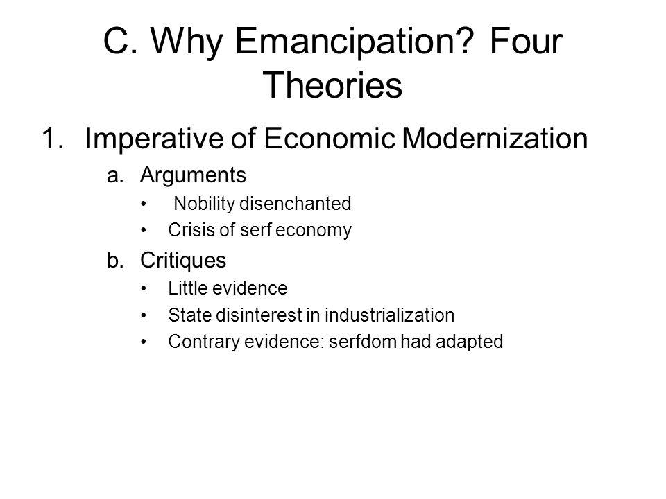 C.Why Emancipation 2. Revolutionary Situation a.