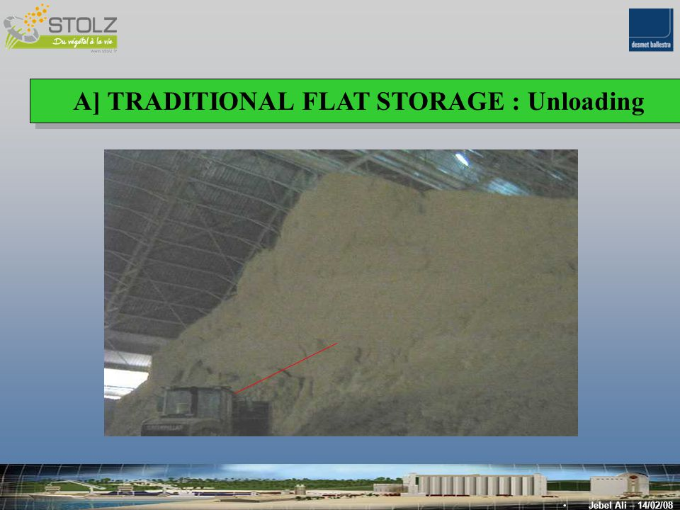 A] TRADITIONAL FLAT STORAGE : Unloading Jebel Ali – 14/02/08