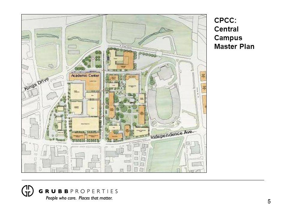 5 CPCC: Central Campus Master Plan