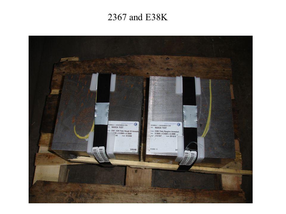 CD BOHLER- UDDEHOLMDIEVAR1850 FOIL1125 F C2 SCHMOLZ & BIKENBACH23671885 FOIL1125 F EE SCHMOLZ & BIKENBACHE38K1850 FOIL1115 F ET ELLWOOD SPECIALTYTUF-DIE1885 FOIL1125 F NADCA GRADE ID SUPPLIER TYPE AUSTENITIZING TEMPERx3 CAPABILITY HEAT TREATMENT (44-46HRC)