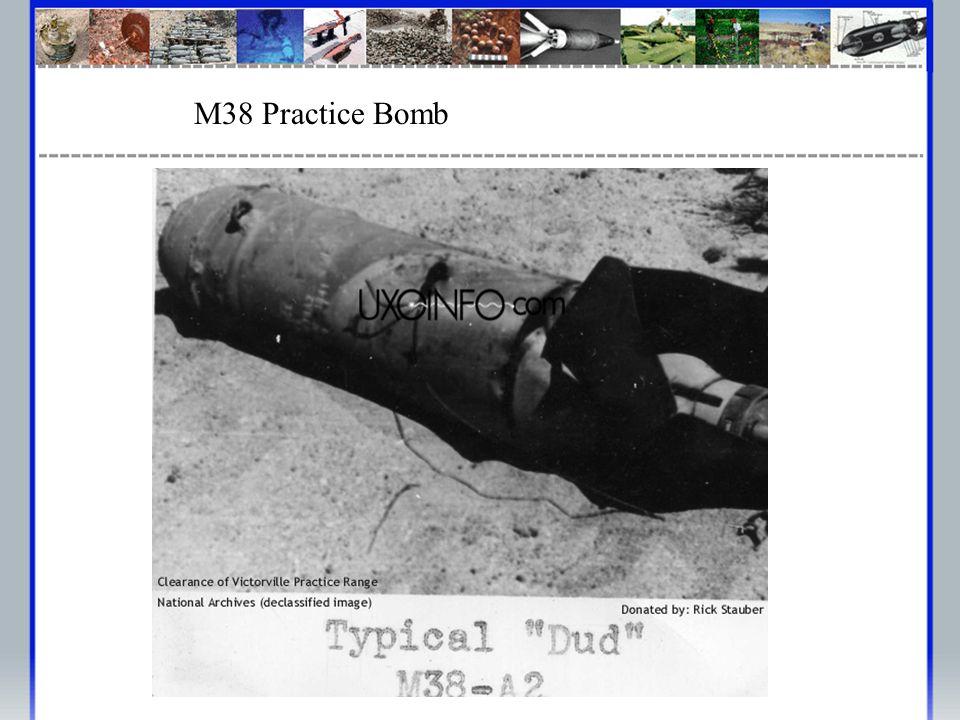 M38 Practice Bomb