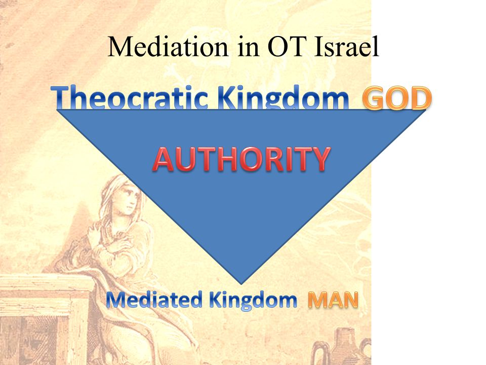 Mediation in OT Israel
