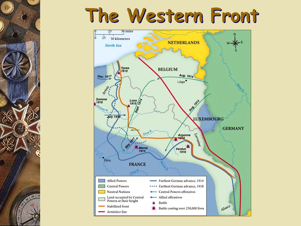A Multi-Front War