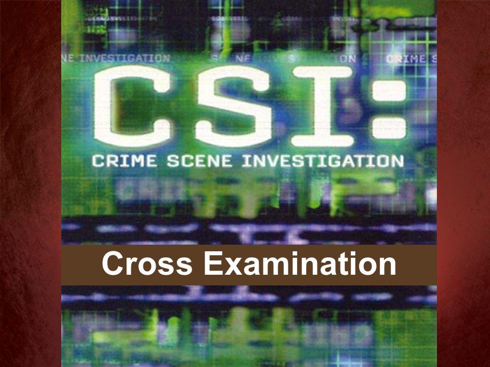 Crucifixion Scene Investigation I Cor. 2:2, 7-8