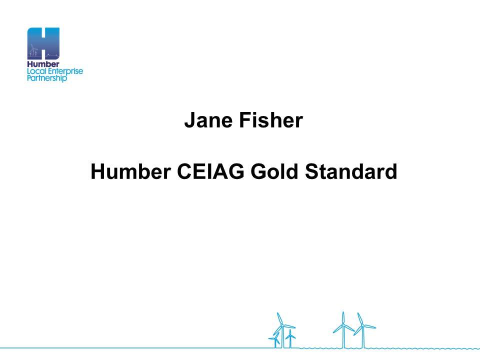 Jane Fisher Humber CEIAG Gold Standard