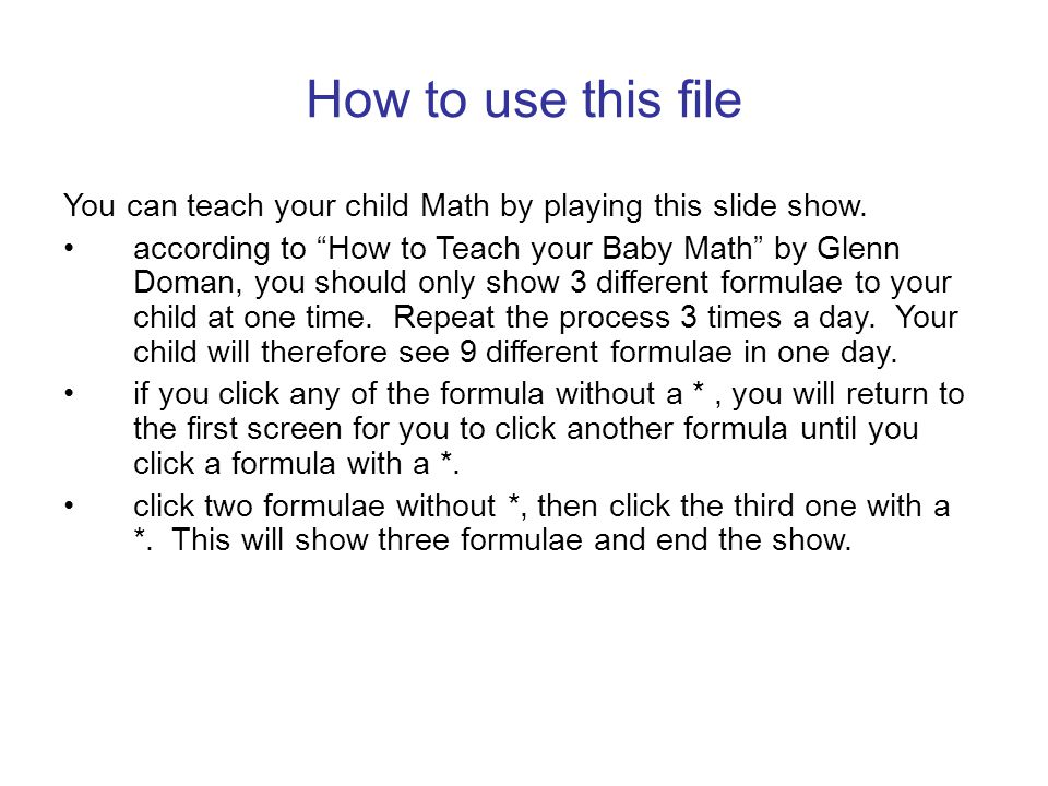 Information of this file Subject: Math – Addition for 14 Days Created by: Piaopiao Last Revision Date: 17 December 2003 From: http://www.palmchristy.n