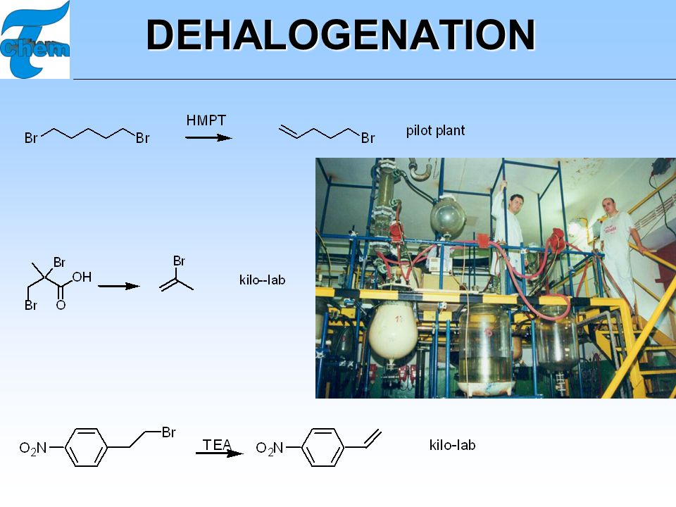 DEHALOGENATION