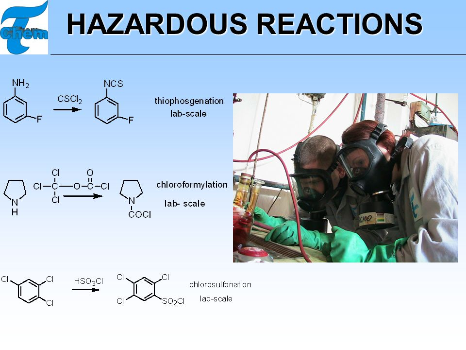HAZARDOUS REACTIONS