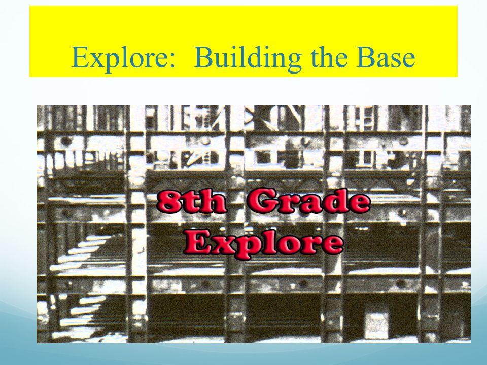 Explore: Building the Base