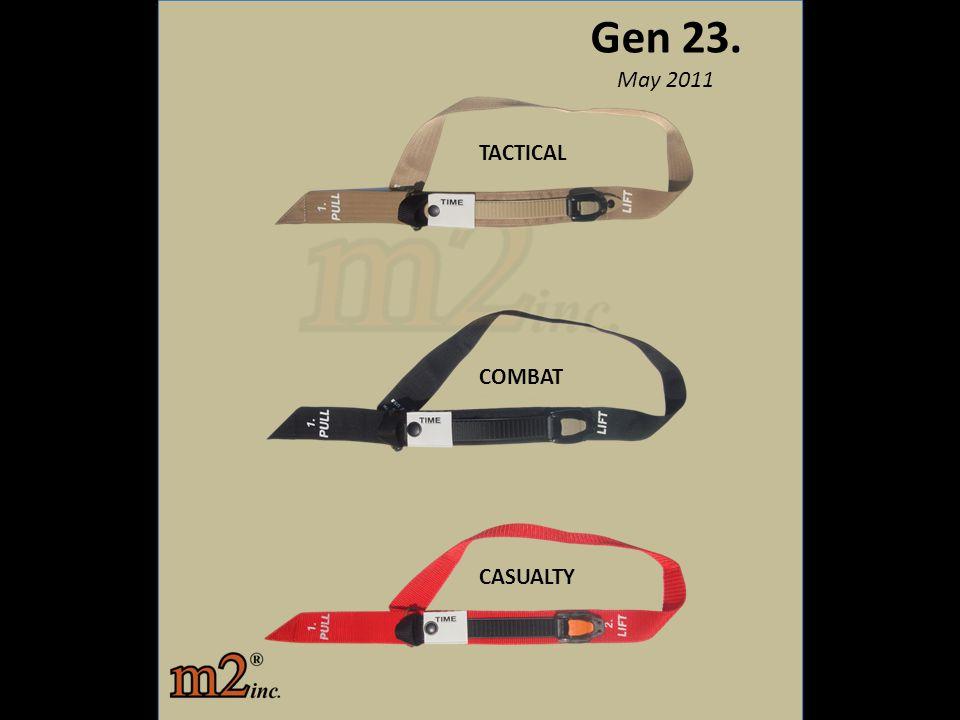 Gen 23. May 2011 TACTICAL COMBAT CASUALTY