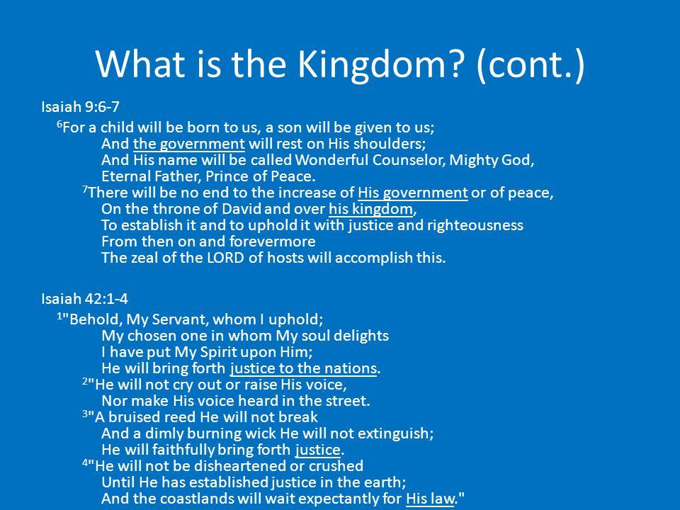 What is the Kingdom.