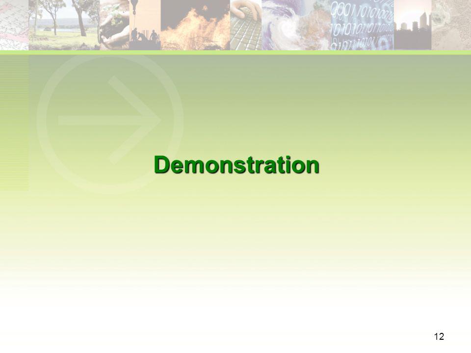 12 Demonstration