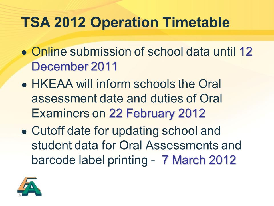 34 Submission of School Data 5.Nomination of AAS (contd) 5.