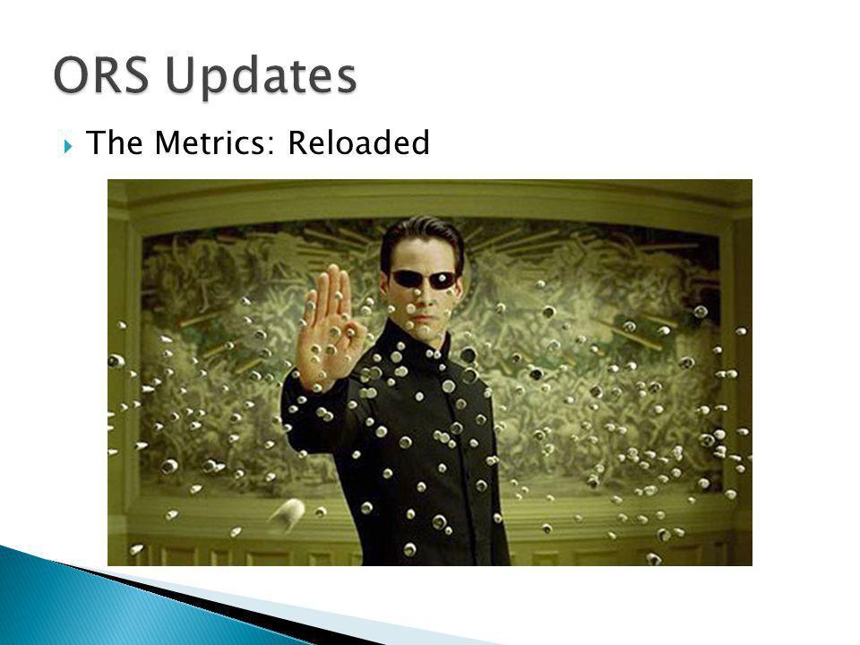  The Metrics: Reloaded