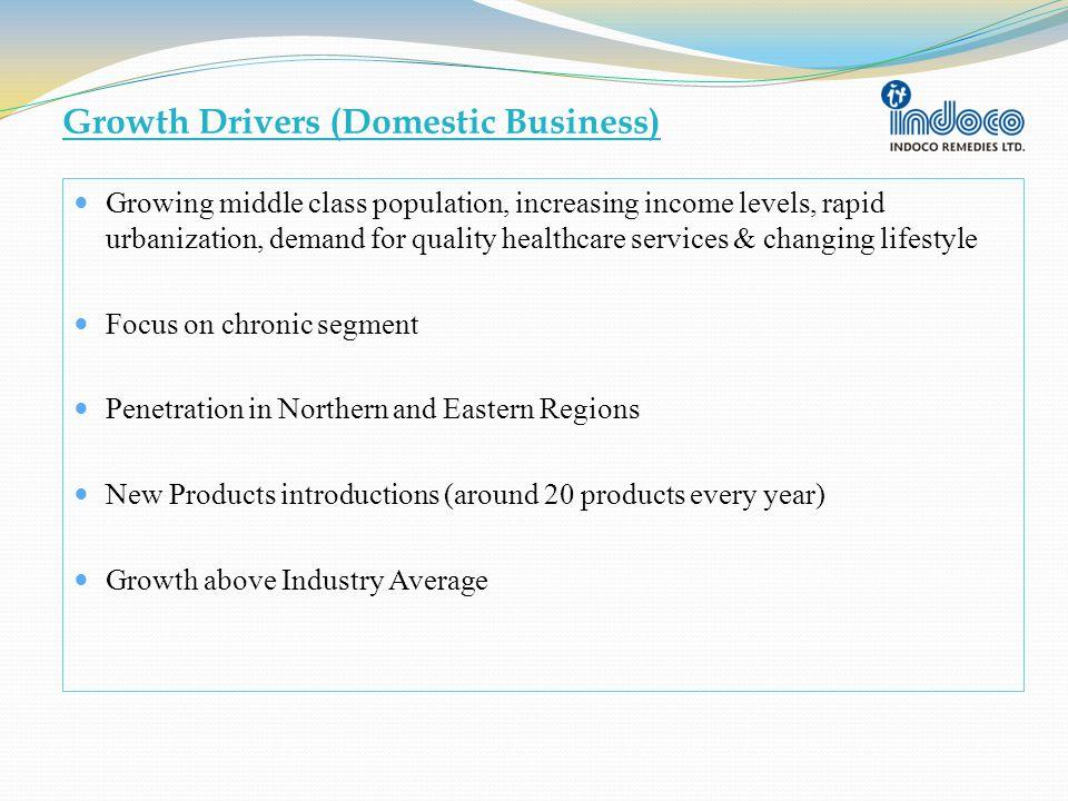 International Business Revenue of Rs.