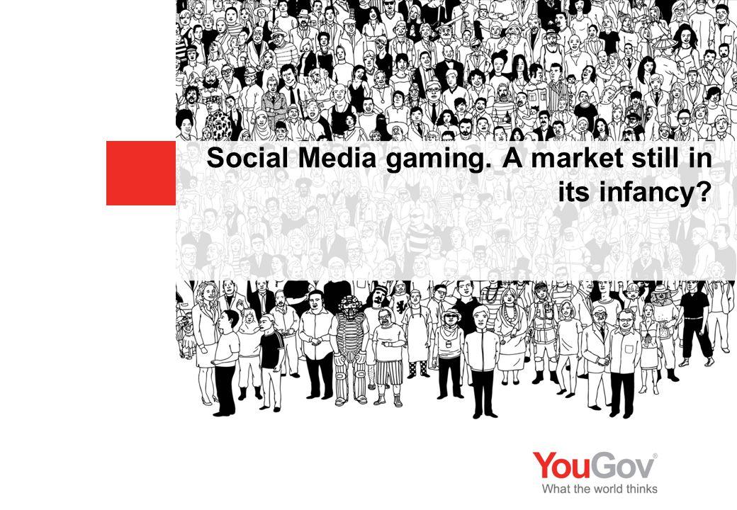 Social Media gaming. A market still in its infancy?