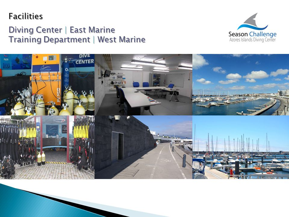 Facilities Diving Center | East Marine Training Department | West Marine