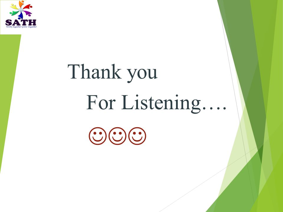 Thank you For Listening….