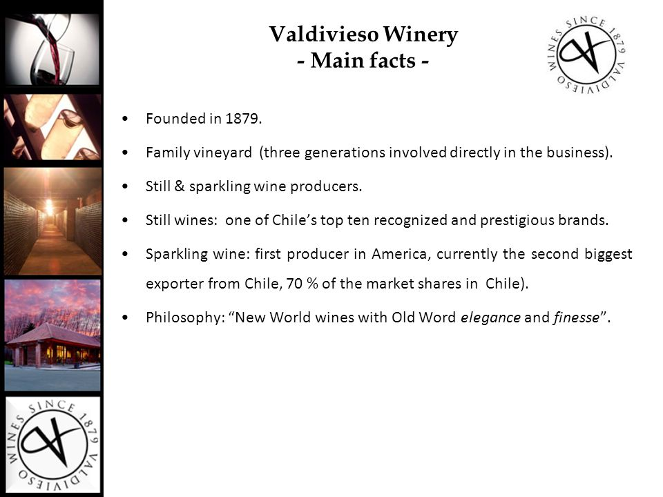 Reserve Single Valley  Wines represents the best variety of each Chilean Valley.