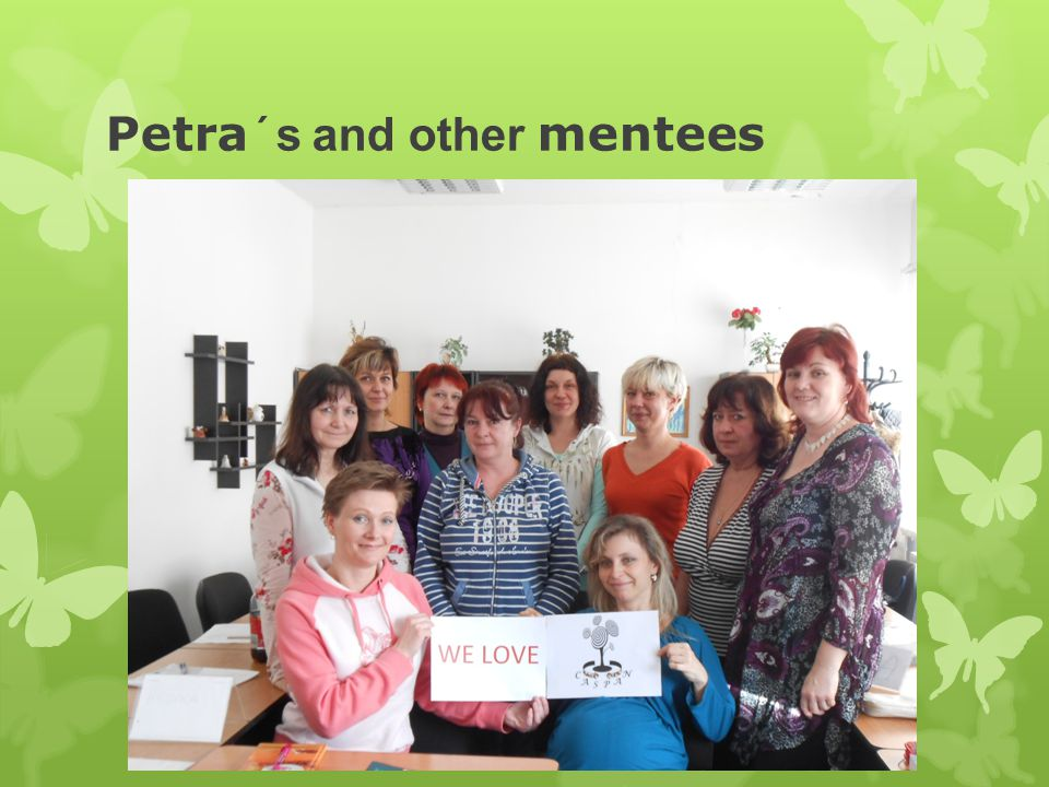 Petra ´s and other mentees