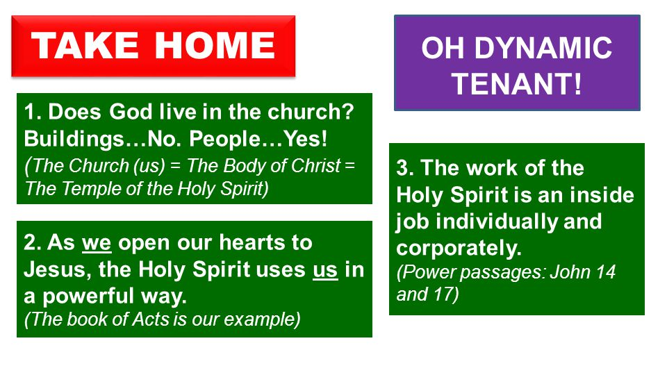  Many can say with those disciples in Ephesus: Holy Spirit.