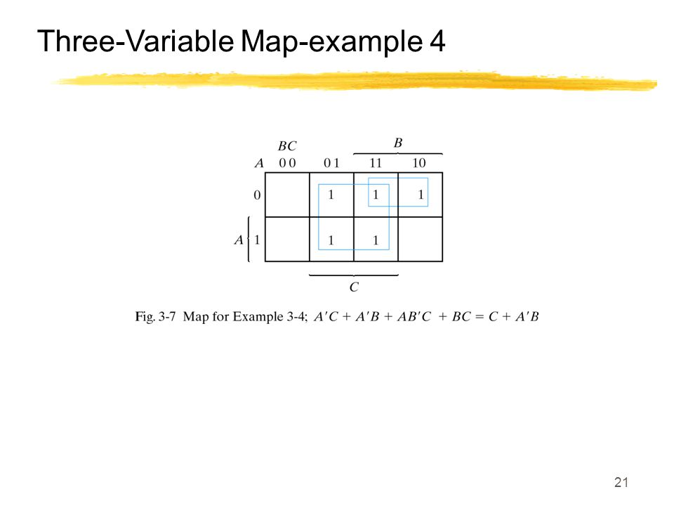 21 Three-Variable Map-example 4