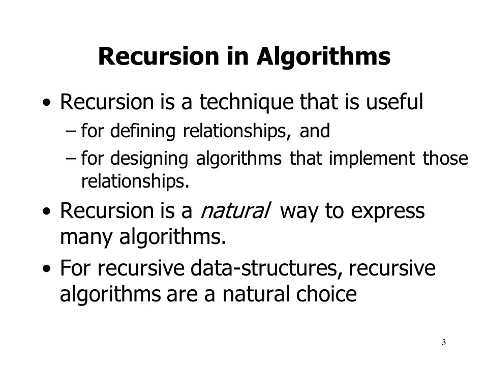 4 What Is Recursion.