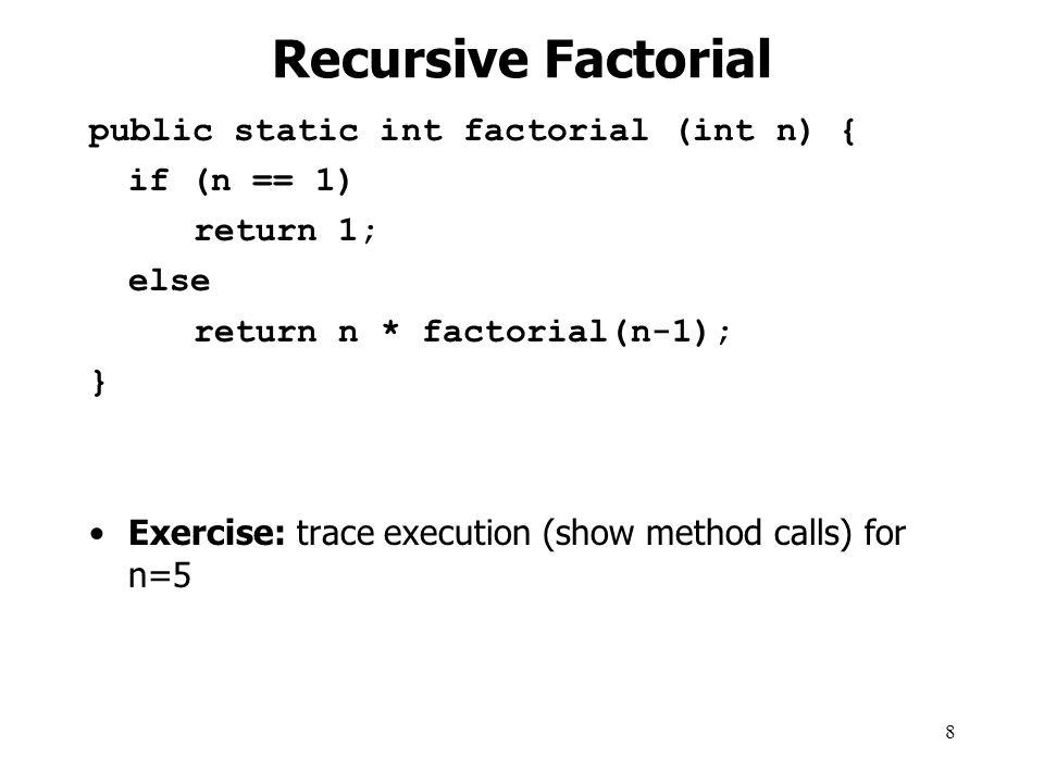 9 Why Do Recursive Methods Work.