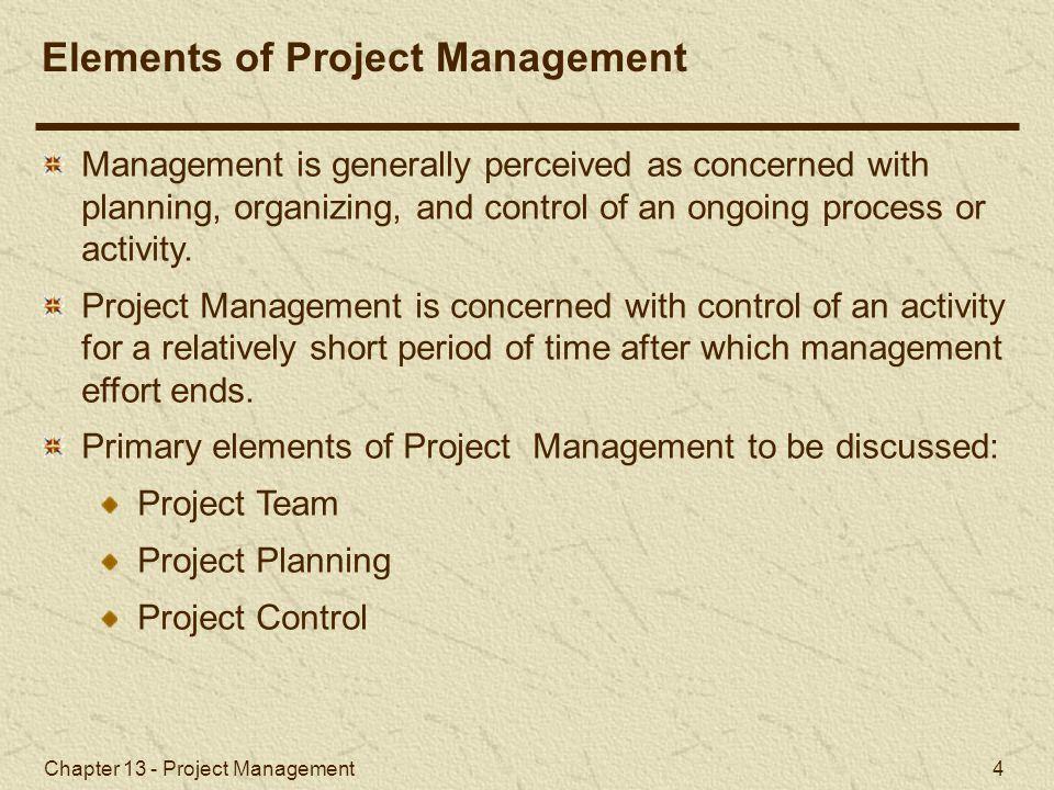 Chapter 13 - Project Management 35 Activity-on-Node Networks and Microsoft Project Microsoft Project (2 of 4) Exhibit 13.3