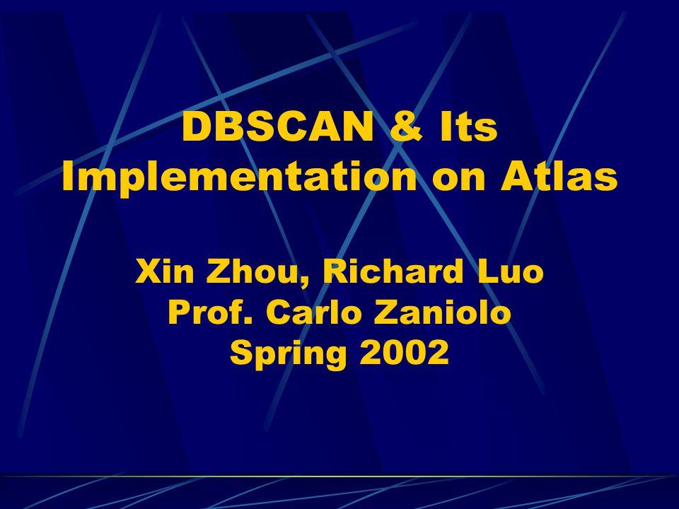 DBSCAN: The Algorithm (3)
