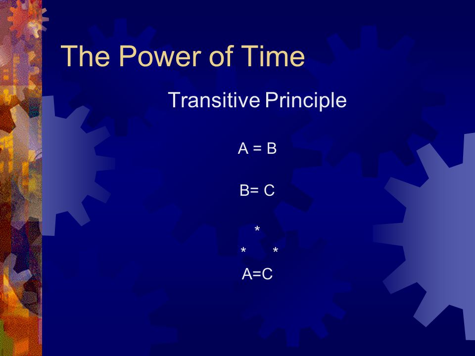 The Power of Time Time = Money Money = Power * * Time = Power Question: What are the implications for couple conflicts around income, domestic labor and childcare, and temporal influence in the family?