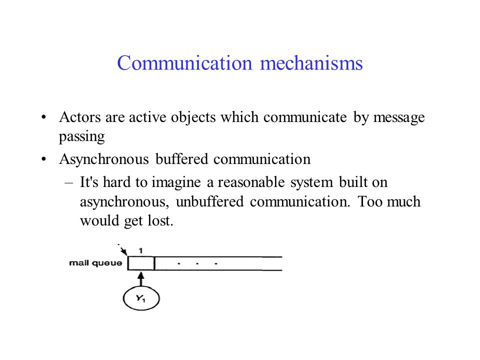 Actor Languages Communication mechanisms Structure of Actor Languages Kernel language Act Actor-based languages Lehui (Bill) Nie @ UW