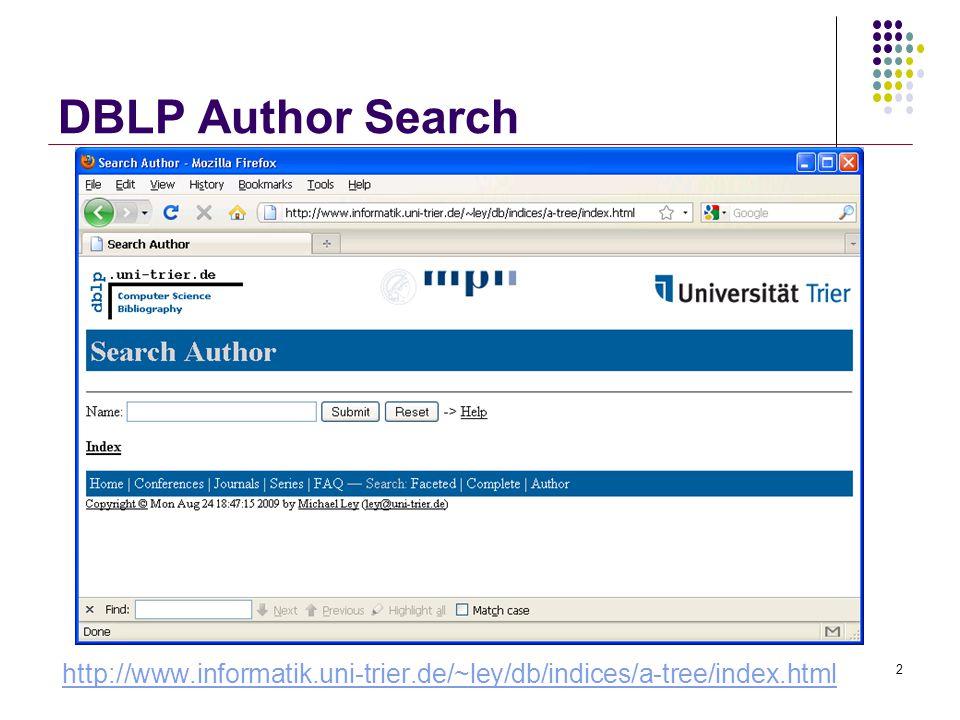 MergeOpt Algorithm [SK04] Long Lists: T-1Short Lists Binary search 33