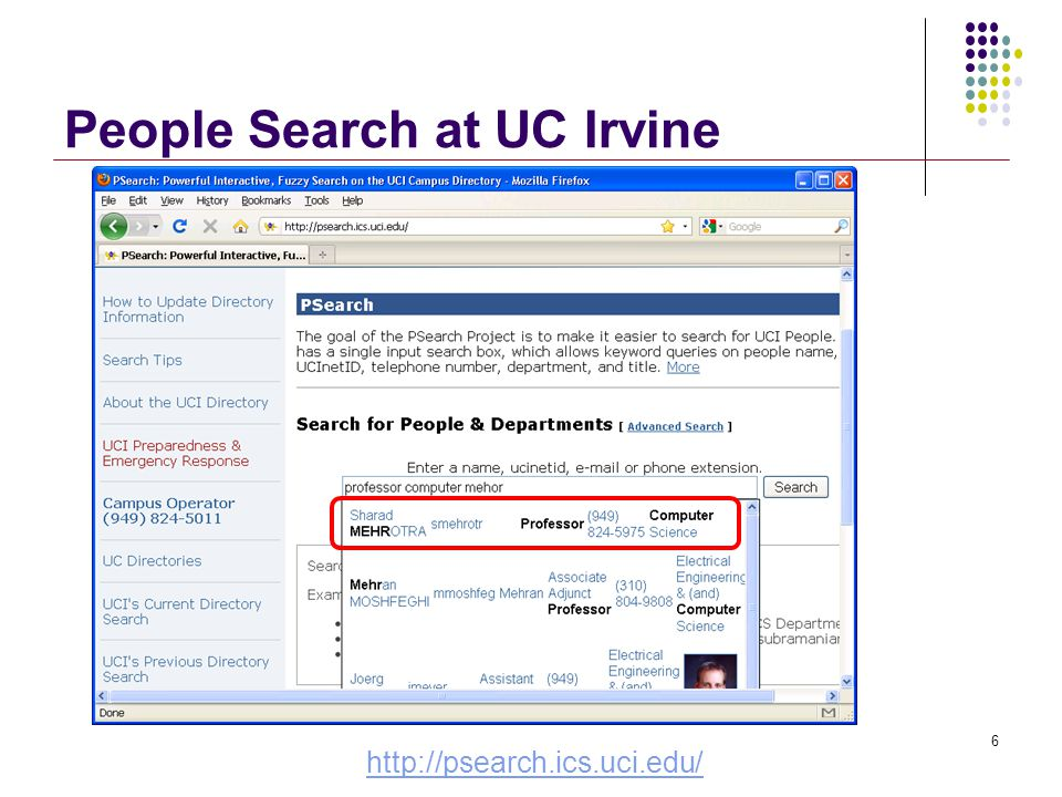 Web Search http://www.google.com/jobs/britney.html  Errors in queries  Errors in data  Bring query and meaningful results closer together Actual queries gathered by Google 7