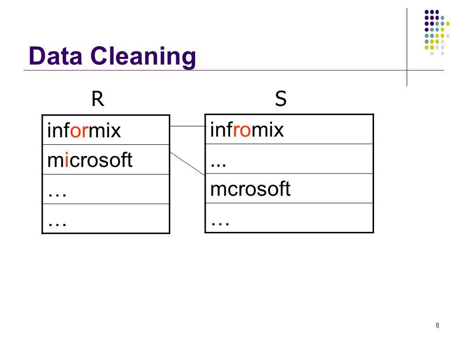 Active nodes on Trie e x a m p l $ $ e m p l a r $ t $ s a m p l e $e PrefixDistance examp2 exampl1 example0 exempl2 exempla2 sample2 Query: example Edit-distance threshold = 2 2 1 0 2 2 2 19