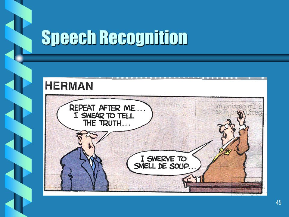 45 Speech Recognition