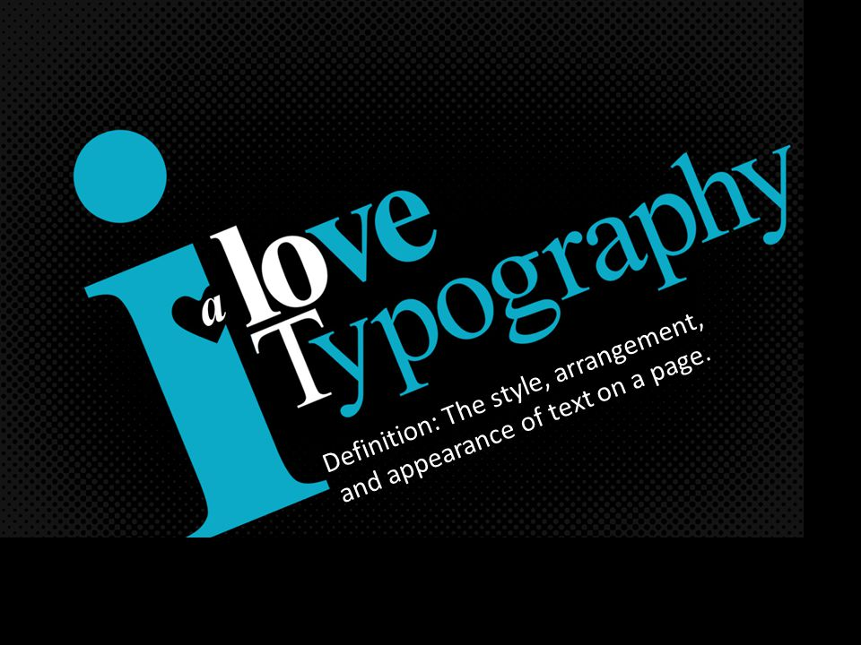 CONCORDANT TYPE: Type that is all the same font (can be boring).