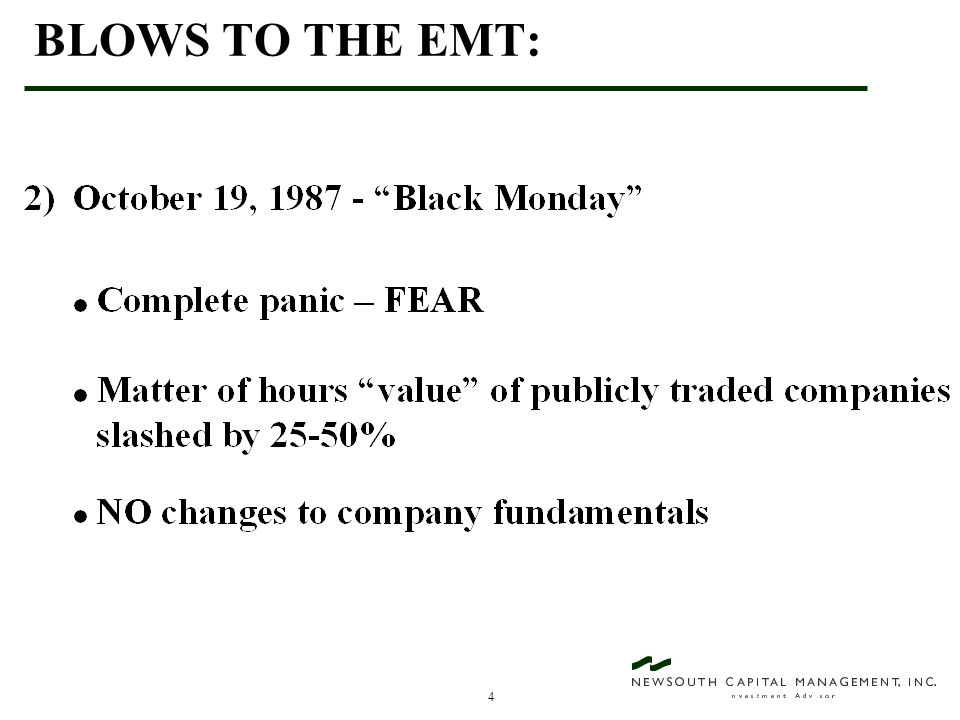45 VALUE INVESTING - AN EXAMPLE OF WHAT CAN GO WRONG! Liz Claiborne - A $31 Stock (February, 1992)