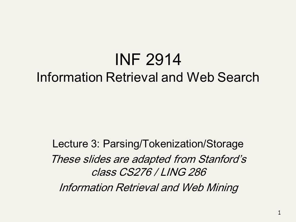 12 Tokenization: Language issues L ensemble  one token or two.